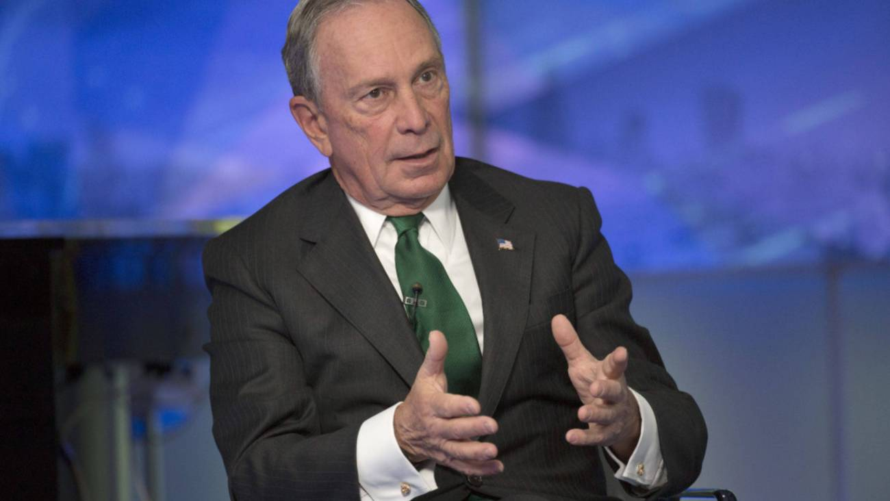 Michael Bloomberg. Créditos: Bloomberg