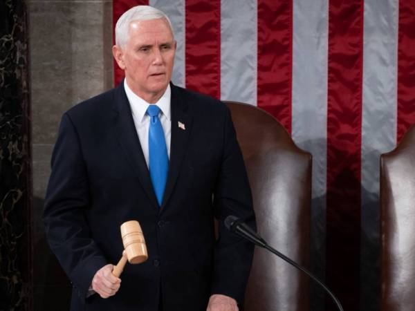 <p>Mike Pence, vicepresidente de Estados Unidos. Créditos: Bloomberg. </p>